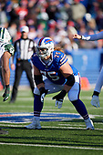 Buffalo Bills guard Wyatt Teller (75) during an NFL football game against the New York Jets, Sunday, December 9, 2018, in Orchard Park, N.Y.  (Mike Janes Photography)
