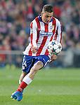 Atletico de Madrid's Jose Maria Gimenez during Champions League 2014/2015 match.March 16,2015. (ALTERPHOTOS/Acero)