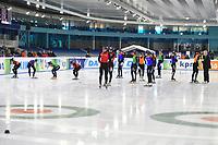 SCHAATSEN: HEERENVEEN: 14-10-2018, IJsstadion Thialf, Invitation Cup Shorttrack, ©foto Martin de Jong