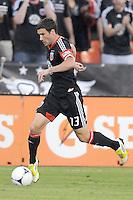 D.C. United midfielder Chris Pontius (13) D.C. United defeated The Chicago Fire 4-2 at RFK Stadium, Wednesday August 22, 2012.