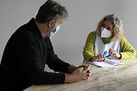 PROGETTO ARCA<br /> Il cohousing di Casa Arca di Roma.<br /> Colloqui individuali della coordinatrice con gli ospiti.