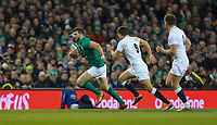 Saturday 2nd February 2019 | Ireland vs England<br /> <br /> Robbie Henshaw during the opening Guinness 6 Nations clash between Ireland and England at the Aviva Stadium, Lansdowne Road, Dublin, Ireland.  Photo by John Dickson / DICKSONDIGITAL
