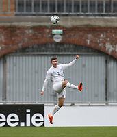 15th November 2020; Tallaght Stadium, Dublin, Leinster, Ireland; 2021 Under 21 European Championships Qualifier, Ireland Under 21 versus Iceland U21; Daoi Freyr Arnarsson clears the danger for Iceland
