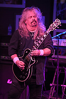 BOCA RATON - FEBRUARY 26: Bobby Ingram of Molly Hatchet performs at The Funky Biscuit on February 26, 2021 in Boca Raton, Florida. Credit: mpi04/MediaPunch