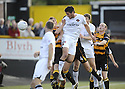 25/08/2009  Copyright  Pic : James Stewart.sct_jspa01_alloa_v_dundee_utd  .ANDIS SHALA SCORES THE FIRST.James Stewart Photography 19 Carronlea Drive, Falkirk. FK2 8DN      Vat Reg No. 607 6932 25.Telephone      : +44 (0)1324 570291 .Mobile              : +44 (0)7721 416997.E-mail  :  jim@jspa.co.uk.If you require further information then contact Jim Stewart on any of the numbers above.........