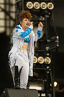 Kiesza performs at the Festival d'ete de Quebec (Quebec City Summer Festival) Thursday July 9, 2015.