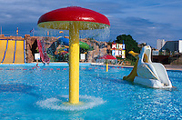 Spanien, Mallorca, im Aquapark von Magaluf