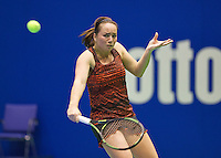 Rotterdam, Netherlands, December 17, 2015,  Topsport Centrum, Lotto NK Tennis, Nicole Thijssen (NED)<br /> Photo: Tennisimages/Henk Koster