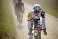 111th Paris-Roubaix 2013..Jens Debusschere (BEL).