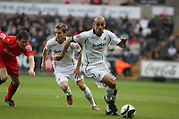 Pictured: Darren Pratley of Swansea City<br />