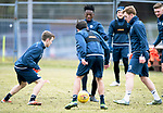 St Johnstone Training…25.02.18<br />Matty Willock pictured during training game at McDiarmid Park ahead of the Rangers game<br />Picture by Graeme Hart.<br />Copyright Perthshire Picture Agency<br />Tel: 01738 623350  Mobile: 07990 594431