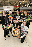 Pictured at Asda's Long Eaton store from left are the Rev Samantha Tredwell of St John's Church, Asda Colleague Jon Coutts-Walker, Chrchwarden Fay Rumley of St John's Church, Store Manager Fausto Lallo and Asda Colleague Samantha Thornton