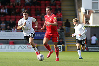 Theo Archibald of Leyton Orient and Jamie Bowden of Oldham Athletic during Leyton Orient vs Oldham Athletic, Sky Bet EFL League 2 Football at The Breyer Group Stadium on 11th September 2021