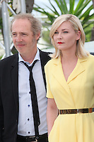 ARNAUD DESPLECHIN AND KIRSTEN DUNST - PHOTOCALL OF THE JURY AT THE 69TH FESTIVAL OF CANNES 2016