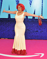 """La Voix at the """"Everybody's Talking About Jamie"""" world film premiere, Royal Festival Hall, Belvedere Road, on Monday 13th September 2021 in Londomn, England, UK. <br /> CAP/CAN<br /> ©CAN/Capital Pictures"""