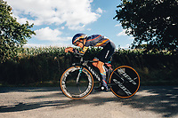 6th October 2021 Womens Cycling Tour, Stage 3. Individual Time Trial; Atherstone to Atherstone. Ella Harris.