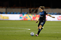 SAN JOSE, CA - SEPTEMBER 16: Florian Jungwirth #23 of the San Jose Earthquakes during a game between Portland Timbers and San Jose Earthquakes at Earthquakes Stadium on September 16, 2020 in San Jose, California.