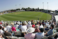 General view - Ford County Ground, New Writtle Street, Chelmsford, home of Essex County Cricket Club - 09/06/06 - MANDATORY CREDIT: Gavin Ellis/TGSPHOTO. Self-Billing applies where appropriate. NO UNPAID USE. Tel: 0845 094 6026
