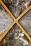 Viana.Navarra.Espana.Viana.Navarra.Spain.Frescos de pintura en las ruinas de la iglesia de San Pedro..Fresh paint on the ruins of the church of San Pedro..(ALTERPHOTOS/Alfaqui/Acero)