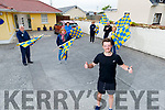 Recovery Haven giving Maurice Kelter a big cheer after crossing the finish line in 6hrs 15 min for his 66K Ultra Marathon fundraiser for Recovery Haven which has raised over €15,000 in memory of his mom, the late Ann Kelter in Tralee on Sunday last.<br /> L to r: Dermot and Joan Crowley,  Kathleen Collins, Una and Jim Sheehy and Marion Barnes, .