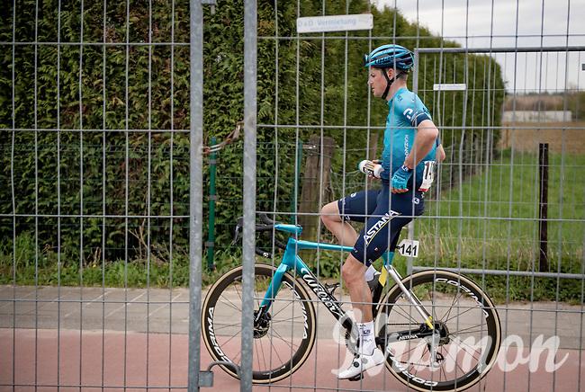 Jakob Fuglsang (DEN/Astana - Premier Tech) post-race<br /> <br /> 55th Amstel Gold Race 2021 (1.UWT)<br /> 1 day race from Valkenburg to Berg en Terblijt; raced on closed circuit (NED/217km)<br /> <br /> ©kramon