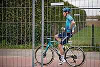 Jakob Fuglsang (DEN/Astana - Premier Tech) post-race<br /> <br /> 55th Amstel Gold Race 2021 (1.UWT)<br /> 1 day race from Valkenburg to Berg en Terblijt; raced on closed circuit (NED/217km)<br /> <br /> ©kramon