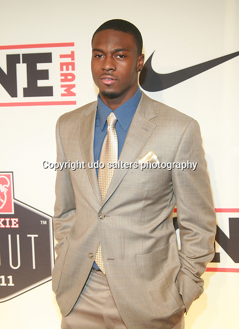 """Cincinnati's  1st Round Draft Pick A. J. Green Attends the NFL Players Association Rookie Debut """"One Team Celebration"""" Held at Cipriani Wall Street, NY  4/30/2011"""