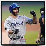 Scott Schreiber of the Asheville Tourists has been named High-A East Player of the Week for June 14-20 by Minor League Baseball. (Tom Priddy/Four Seam Images) https://www.milb.com/fans/players-of-the-week