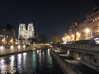Evening on Notre Dame & Seine