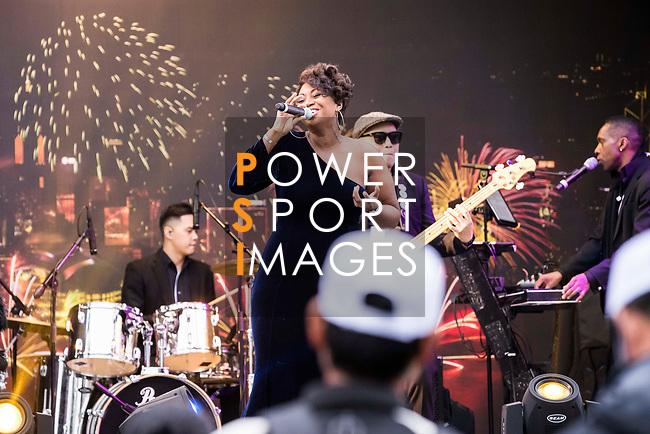 Live Band Performance during the day three of UBS Hong Kong Open 2017 at the Hong Kong Golf Club on 25 November 2017, in Hong Kong, Hong Kong. Photo by Yu Chun Christopher Wong / Power Sport Images