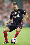 FC Barcelona's Jordi Alba during La Liga match. August 28,2016. (ALTERPHOTOS/Acero)