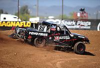 Apr 15, 2011; Surprise, AZ USA; LOORRS driver Austin Kimbrell (88) during round 3 and 4 at Speedworld Off Road Park. Mandatory Credit: Mark J. Rebilas-.