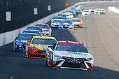 Monster Energy NASCAR Cup Series<br /> Brickyard 400<br /> Indianapolis Motor Speedway, Indianapolis, IN USA<br /> Sunday 23 July 2017<br /> Erik Jones, Furniture Row Racing, Sport Clips Toyota Camry and Joey Logano, Team Penske, Shell Pennzoil Ford Fusion<br /> World Copyright: Russell LaBounty<br /> LAT Images