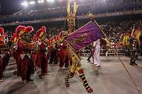 SAO PAULO, SP, 21/02/2020 - Carnaval 2020 -SP- Carnaval 2020, Simone Sampaio Rainha de Bateria da Escola de Samba Dragoes da Real pelo grupo especial, no Sambodromo do Anhembi em Sao Paulo, SP, nesta sexta-feira (21). (Foto: Marivaldo Oliveira/Codigo 19/Codigo 19)