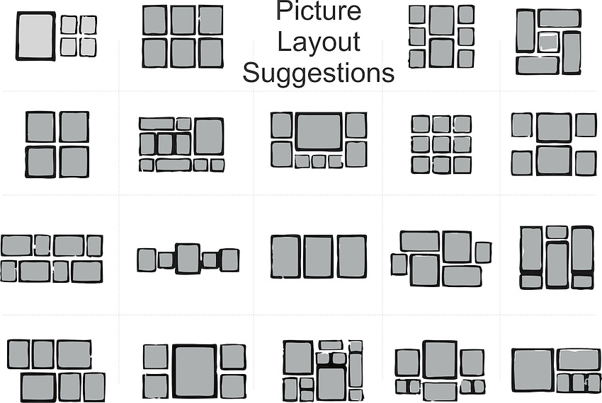 Suggestions for picture layouts