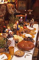 Europe/France/Provence-Alpes-Côte d'Azur/13/Bouches-du-Rhône/Allauch : Société des nougats d'Allauch - La table des treize desserts [Autorisation : 24]