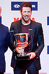 Atletico de Madrid coach Diego Pablo Simeone attends to the photocell of the Marca Awards 2015-2016 at Florida Park in Madrid. November 07, 2016. (ALTERPHOTOS/Borja B.Hojas)