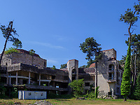 Hotelruinen in Kobuleti, Adscharien - Atschara, Georgien, Europa<br /> Ruins of Hotels, Kabuleti,  Adjara,  Georgia, Europe
