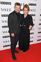 """Andy Serkis and wife, Lorraine Ashbourne<br /> arriving for the """"Widows"""" special screening in association with Vogue at the Tate Modern, London<br /> <br /> ©Ash Knotek  D3457  31/10/2018"""