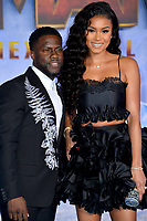 "LOS ANGELES, USA. December 10, 2019: Kevin Hart & Eniko Parrish at the world premiere of ""Jumanji: The Next Level"" at the TCL Chinese Theatre.<br /> Picture: Paul Smith/Featureflash"