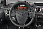 Steering wheel view of a 2008 - 2009 Citroen C2 VTR 3 Door Hatchback 2WD