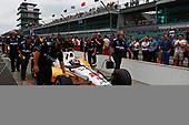 Verizon IndyCar Series<br /> Indianapolis 500 Qualifying<br /> Indianapolis Motor Speedway, Indianapolis, IN USA<br /> Saturday 20 May 2017<br /> Oriol Servia, Rahal Letterman Lanigan Racing Honda<br /> World Copyright: Phillip Abbott<br /> LAT Images<br /> ref: Digital Image abbott_IndyQ-0517_19598