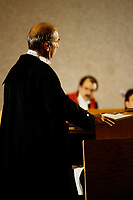 Toronto (on) CANADA - File Photo between 1991 and 1995 - Trial simulation