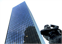 Statue of Industry, located at the corner of Trade and Tryon Streets in uptown Charlotte. Please visit www.PatrickSchneiderPhoto.com for Charlotte's most up-to-date and extensive collection of Charlotte NC photos.