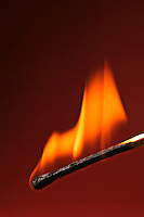 Match flame, fire