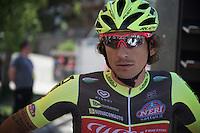 """Filippo """"Pippo"""" Pozzato (ITA/Wilier-Southeast)<br /> <br /> stage 15 (iTT): Castelrotto-Alpe di Siusi 10.8km<br /> 99th Giro d'Italia 2016"""