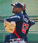 15 March 2007:  Manny Acosta of the Atlanta Braves at their Spring Training camp at the Disney Wide World of Sports complex in Kissimmee, Fla.