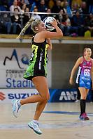 Maddy Gordon of the Pulse during the ANZ Premiership Netball - Te Wānanga o Raukawa Pulse v Southern Steel at Te Rauparaha Arena, Porirua, New Zealand on Sunday 16 May 2021.<br /> Photo by Masanori Udagawa. <br /> www.photowellington.photoshelter.com