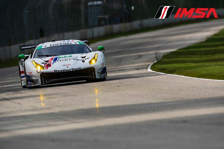 #63 Scuderia Corsa Ferrari 488 GT3, GTD: Cooper MacNeil, Toni Vilander, ©2020, Peter Burke