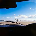 Pendine Beach in Wales  CREDIT Geraint Lewis